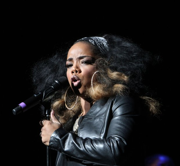 Leela James was the opening act and set the tone for an evening of pleasure at the Orpheum. (Photo: Warren Roseborough)