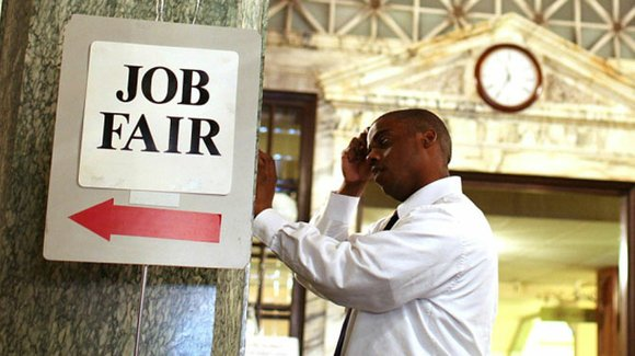 The latest jobs figures were positive, but for African Americans the economic picture is quite different.