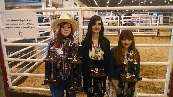 Big smiles filled the faces of students as they crossed the stage at the 2015 Houston Livestock Show and Rodeo ...