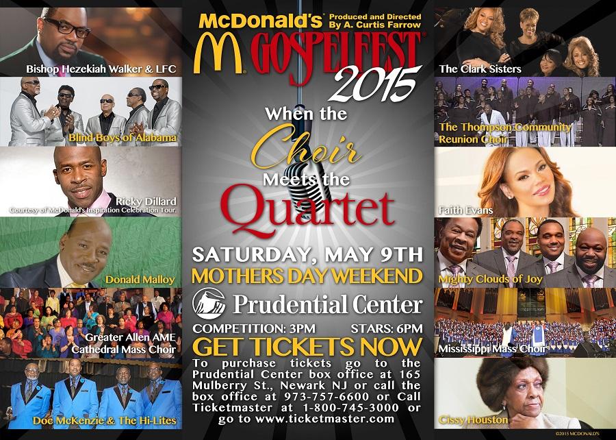 Mcdonald S 174 Gospelfest 174 2015 When The Choir Meets The