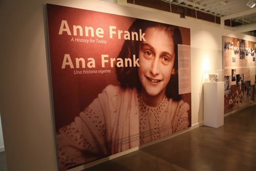 A wonderful exhibit on Anne Frank and the holocaust comes to the Oregon Jewish Museum and Center for Holocaust Education.