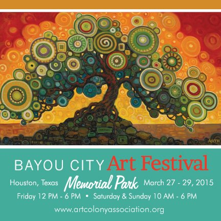 This month, the Bayou City Art Festival Memorial Park 2015 will welcome more than 30,000 Houstonians to their three-day affair, ...