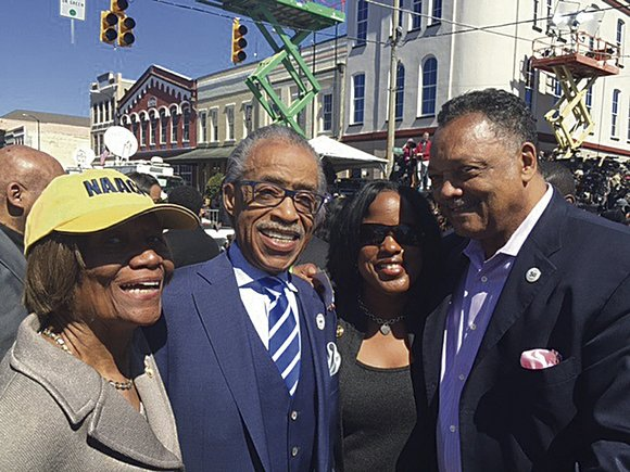 One of Rev. Jesse Jackson's mentees, Rev. Al Sharpton is responding the civil rights leader's announcement that he is suffering ...