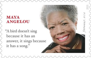 The U.S. Postal Service has honored the late prolific African American author, poet and civil rights activist, Maya Angelou with ...