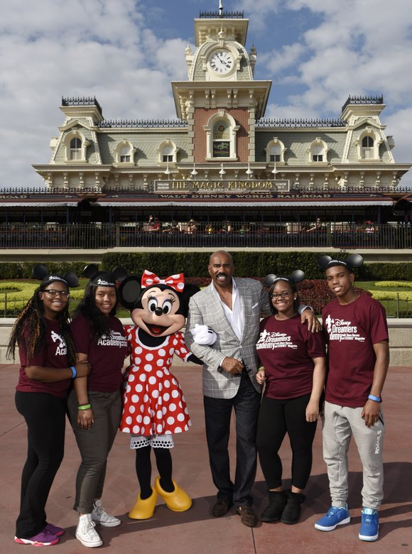 High school students nationwide can now apply at DisneyDreamersAcademy.com to be among 100 selected to participate in the 2016 Disney ...