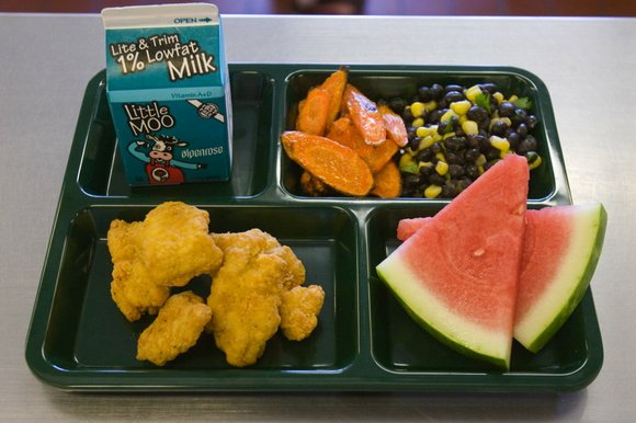 Although going up just a nickel per meal, the school lunch increase will generate about $90,000 in new revenue.