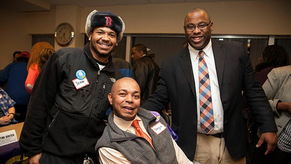 A group of home care professionals and labor advocates met at the 1199 SEIU headquarters in Dorchester last week to ...