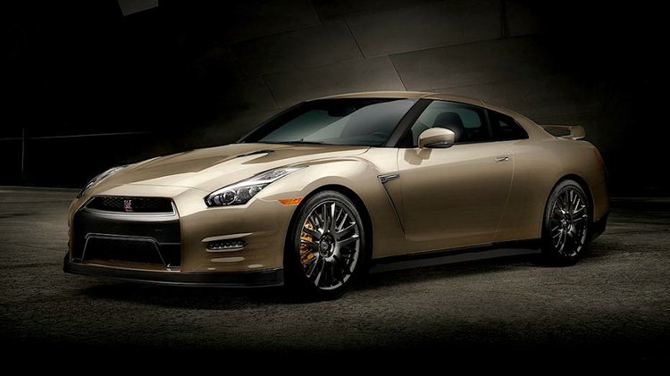 2016 Nissan Gt R 45th Anniversary Gold Edition Debuts New Model Year Pricing Announced
