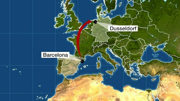 A Germanwings Airbus A320 plane carrying at least 148 people crashed Tuesday in the foothills of the Alps in southeastern ...