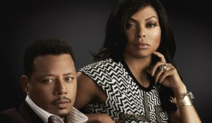 Taraji P. Henson and Terrence Howard as Cookie and Lucious Lyons on Fox's Empire