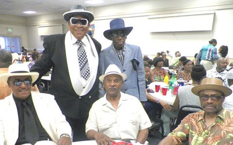 Liddy Jones & friends at R&B show at the Forest Park Senior Center