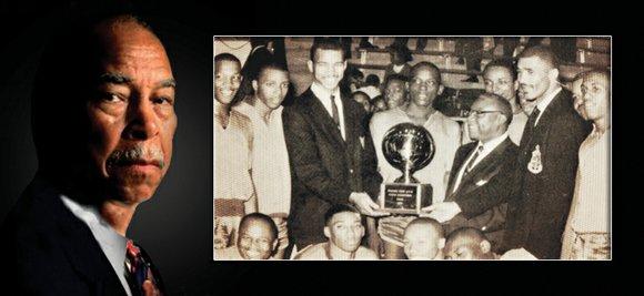 High school boys basketball coach Robert Hughes, 86, achieved career milestones that might make any coach envious.