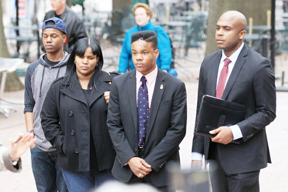 The photo of Martese Johnson lying dazed, bloodied and bruised on the pavement is almost iconic. Blood streams like huge ...