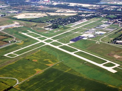 The improvement to the Romeoville-based airport should help attract more businesses to the area, U.S. Rep. Dan Lipinski said.