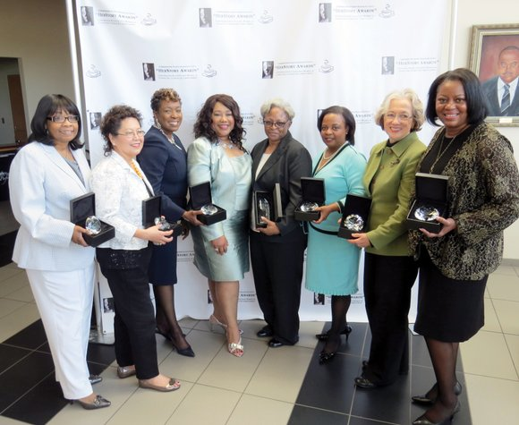 Eight women were honored with HerStory Awards for their community service and accomplishments at the second annual Conversation & Coffee ...