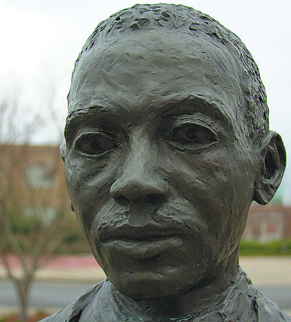 One might expect the statue honoring the first Black student at Ole Miss to be treated well.But no. Last week, ...