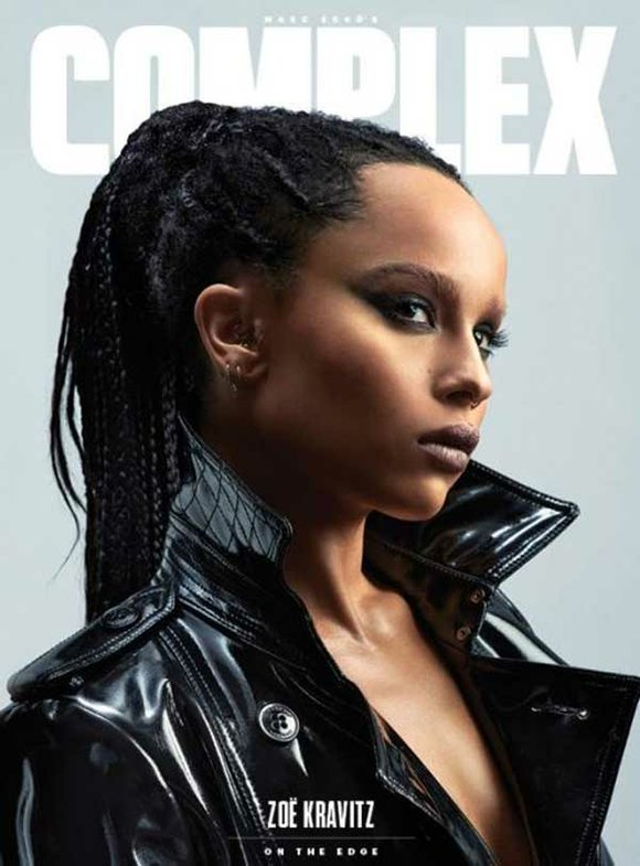 "The daughter of Lisa Bonet and Lenny Kravitz opens up to ""Allure"" about race, self-identity and Bill Cosby."