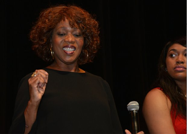 "Alfre Woodard encouraged audience members to use their talents and to blaze their own paths. Said Woodard: ""Everybody has a path, so set yourself on your path."""