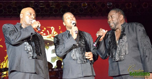 "The soulful Philly sound of the might O'Jays singing ""Forever Mine."""