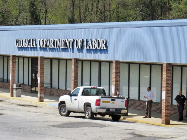 The DeKalb Career Center on Covington Highway has been shuttered since a Feb. 28 car crash damaged the building. The Labor Department says closing it will save $400,000 a year.