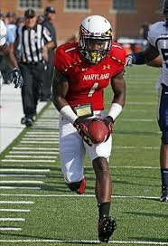 Stefon Diggs was the main event at pro day. He took part in the short shuttle along with the 60 ...