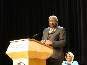 Congressman James Clyburn (D-6th, South Carolina) kicked off Cheyney University of Pennsylvania's Presidential Lecture Series with a bang Wednesday, April ...