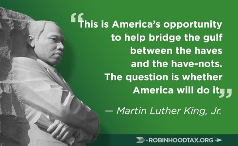 Image result for Martin Luther King and economic justice