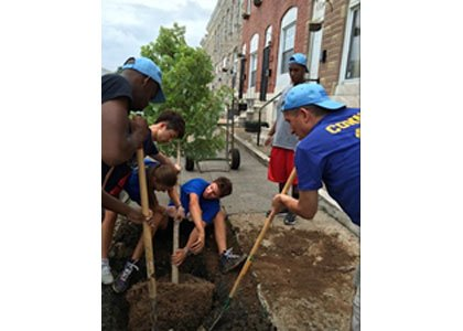 Baltimore Gas and Electric Company (BGE) kicked off its annual Energy Saving Trees Program on Monday, April 6, 2015, as ...