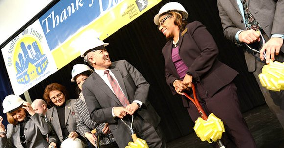 The final school campus under the 2008 Dallas Independent School District bond program held its groundbreaking ceremony with Dallas ISD ...