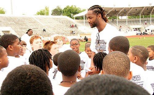 NFL Star Michael Johnson Youth Football Camp Kicks Off in Selma  free shipping
