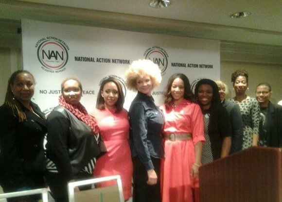 Female panelists came together to discuss issues and topics relating to Black women and girls during the National Action Network's ...