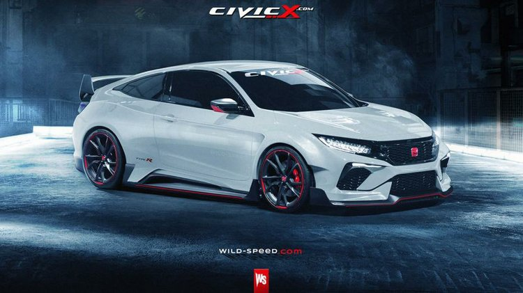 This Is What The New Honda Civic Type R Should Look Like