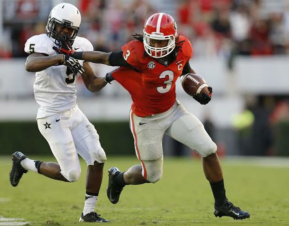 Coming in and contributing as soon as he is healthy is a goal for Gurley. He feels very confident that ...