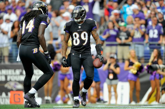 """Steve Smith Sr. helped me a lot. Steve is a Hall of Famer."" Brown said. ""I am a team guy. ..."
