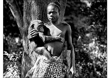 An ordinary Internet search on Ota Benga yields black-and-white photos of a petite Black man, almost naked, smiling with a ...