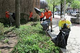 Thursday, however, volunteers will spend three hours doing a spring cleanup of the downtown streets.