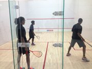 MetroSquash opened a 21,000 sq. ft. squash and academic center at 6100 S. Cottage Grove Ave.  Squash is a racquet sport played by two players (or four players in doubles) in a four-walled court with a small, hollow rubber ball.