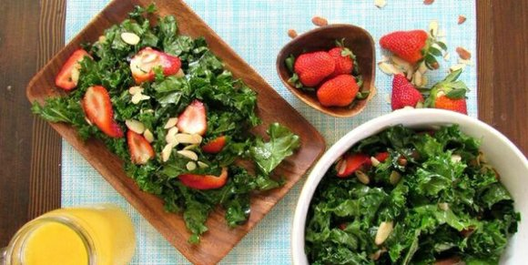 Healthy recipe for a cool salad