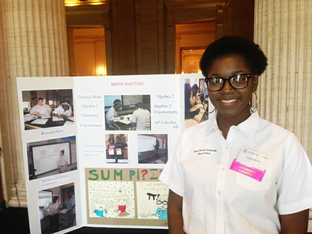 Young Women's Leadership Charter High School (YWLC) Senior Aaliyah Johnson credits her education and her experiences at YWLC as the catalyst that led to her becoming a Gates Millennium Scholarship Program recipient.  The Gates Millennium Scholarship Program promotes academic excellence and provides an opportunity for outstanding minority students with significant financial need to fulfill their academic goals.
