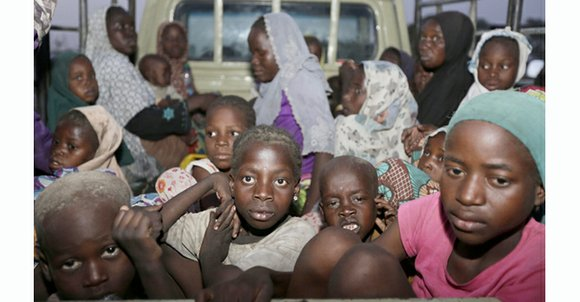 Nigerian troops rescued nearly 300 girls and women during an offensive Tuesday against Boko Haram militants in the northeastern Sambisa ...