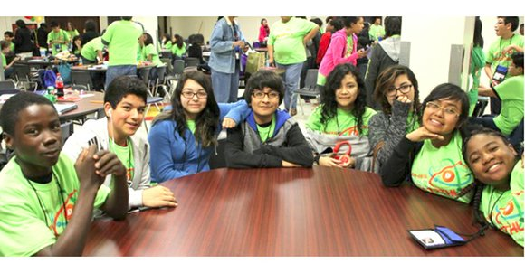Local middle school students participated in the Region XII seventh- and eighth-grade Pentathlon, April 25.