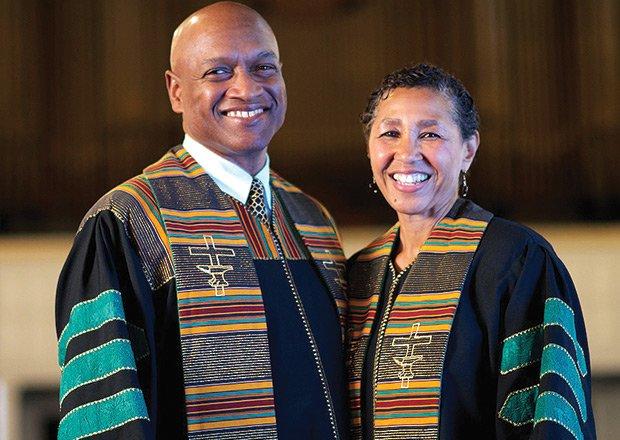 Rev. Dr. Ray Hammond and Rev. Dr. Gloria White-Hammond