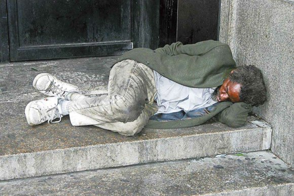The number of homeless people living in a vast swath of Los Angeles County jumped by 16 percent over the ...