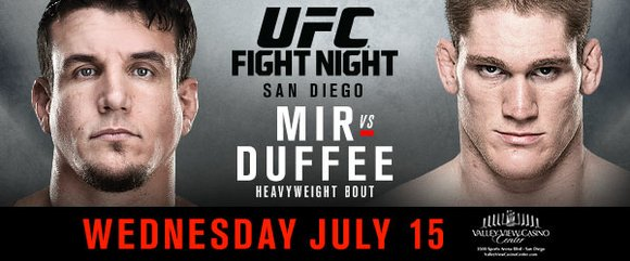The heavy hitters meet at the Valley View Casino Center in San Diego on Wednesday, July 15, the promotion's first ...