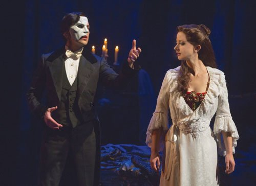 A spectacular new production of Andrew Lloyd Webber's musical 'The Phantom of the Opera' opens at Keller Auditorium.
