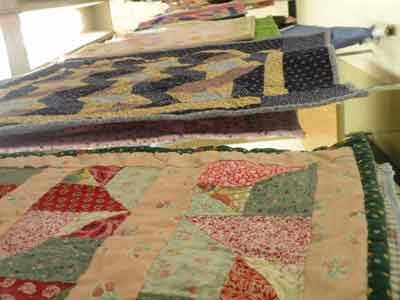 The quilt program is one of many restorative justice programs offered by the Maryland Department of Public Safety and Correctional Services.