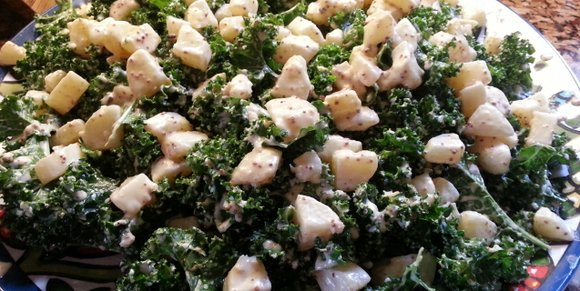 Power Punch Kale Caesar Salad