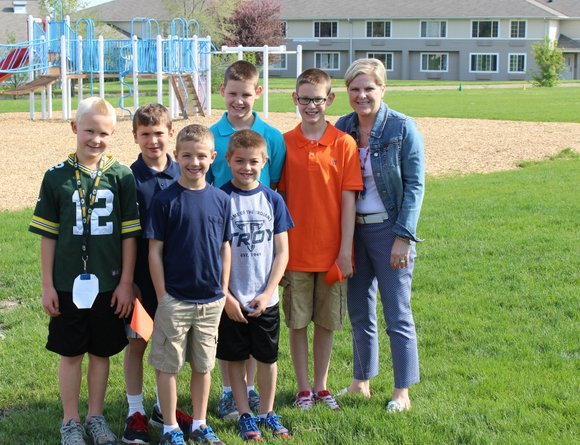 This roundup of news was provided by Troy School District 30C.