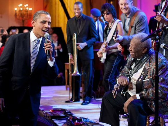 The blues has lost its king, and America has lost a legend. B.B. King was born a sharecropper's son in ...