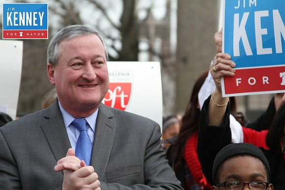 James Frances Kenney won the Democratic nomination for mayor of Philadelphia Tuesday.